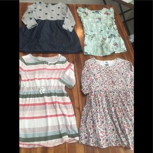4 Size 5T Dresses Gap and Old Navy